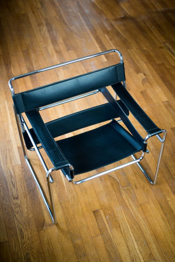 Wassily Chair after design by Marcel Breuer top