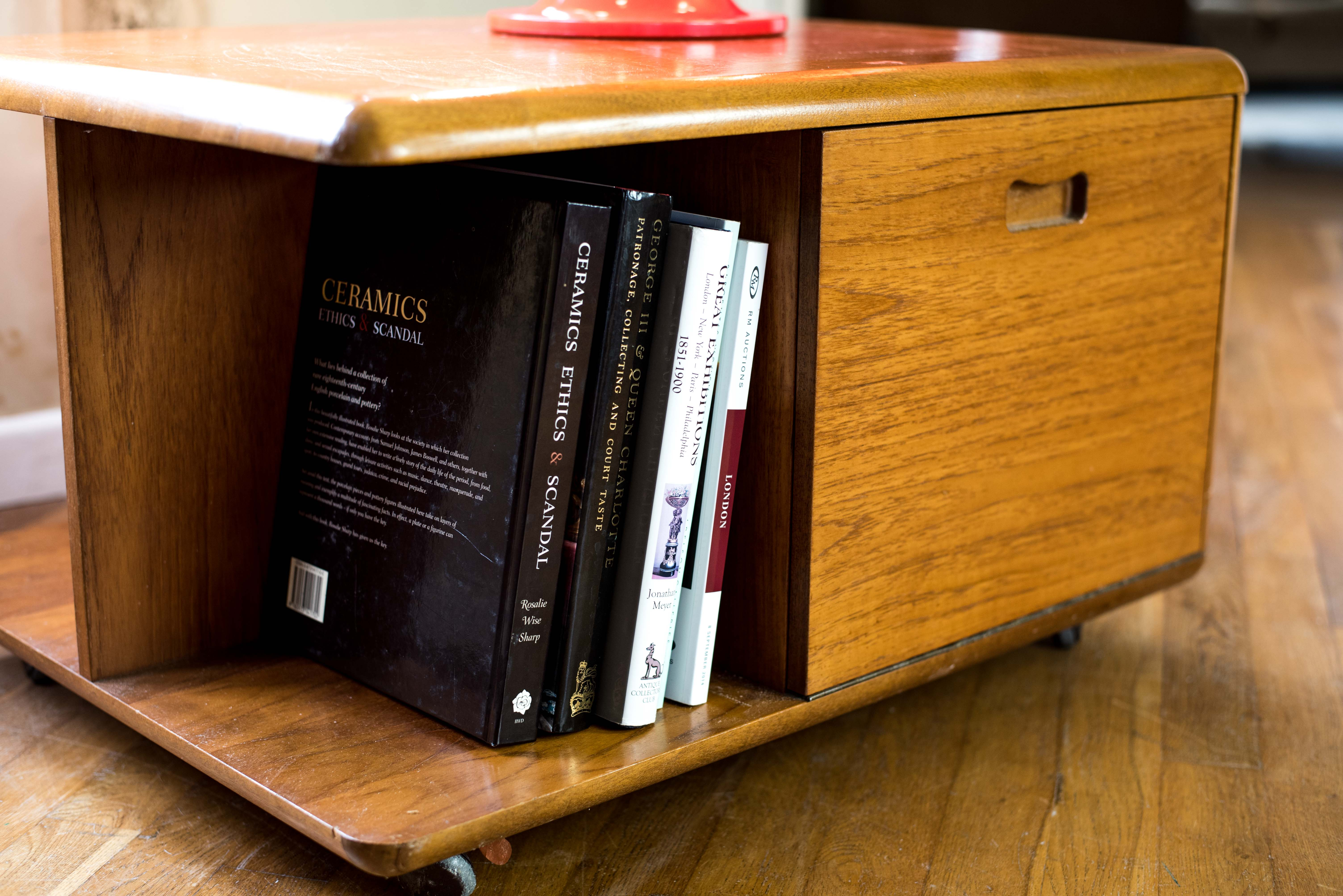 1970s Wooden Side Storage Cabinet 6