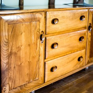 Mid-century Modern Cambridge: Ercol Windsor Sideboard