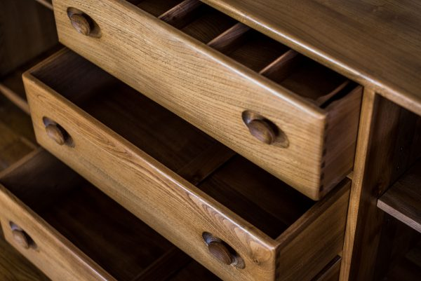 Ercol Blonde Sideboard drawers 3
