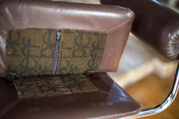 Pieff Eleganza Brown Leather Bar Stools 5