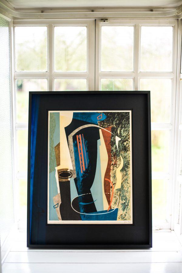 John Piper - Abstract Composition - Colour Lithograph 6