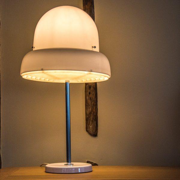 Bergboms B-125 Perspex and Chrome Table Lamp 19