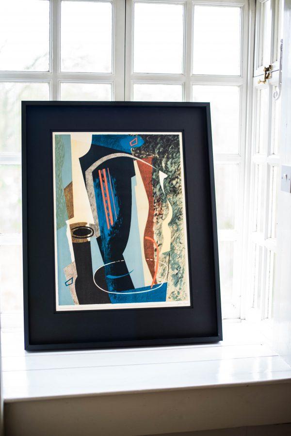 John Piper - Abstract Composition - Colour Lithograph 5