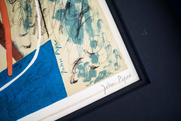 John Piper - Abstract Composition - Colour Lithograph 4