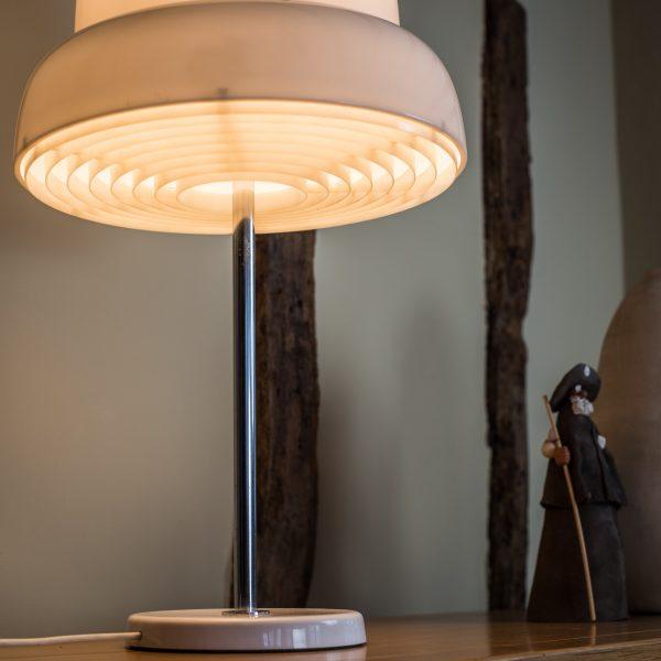 Bergboms B-125 Perspex and Chrome Table Lamp 4