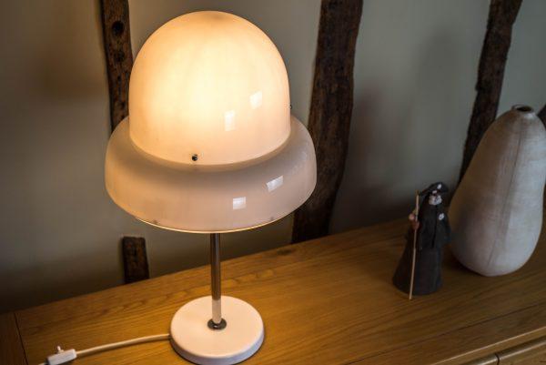 Bergboms B-125 Perspex and Chrome Table Lamp 1