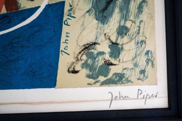 John Piper - Abstract Composition - Colour Lithograph 3