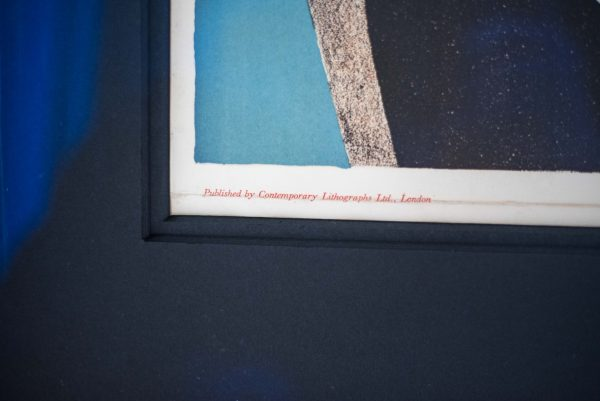 John Piper - Abstract Composition - Colour Lithograph 2