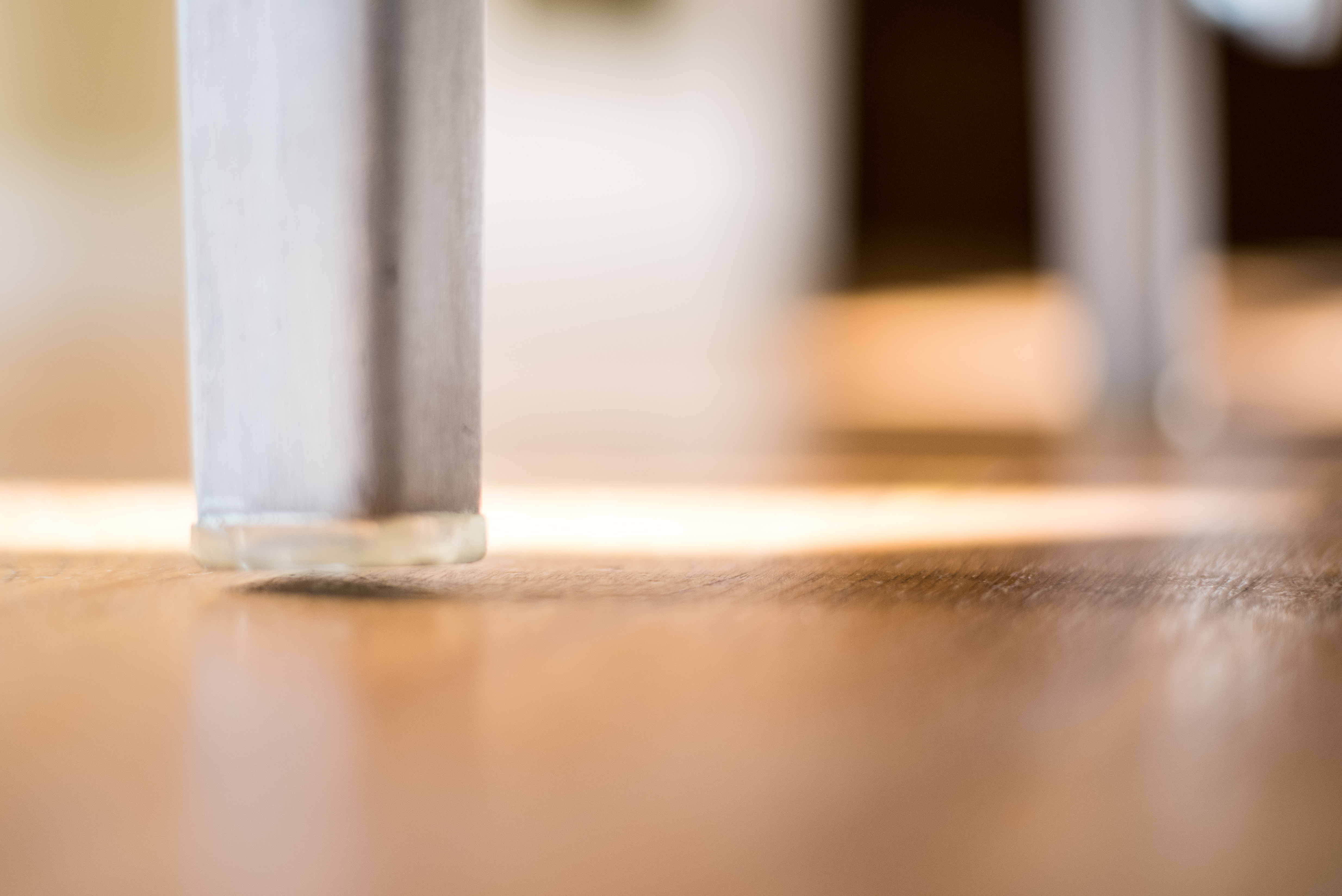 Philippe Starck Hand Brushed Aluminium Hudson Cafe Chairs by Emeco base 2