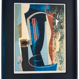 John Piper - Abstract Composition - Colour Lithograph 1