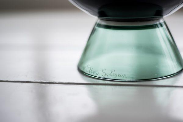 Ettore Sottsass Yeman Vase by Venini Italy base 2
