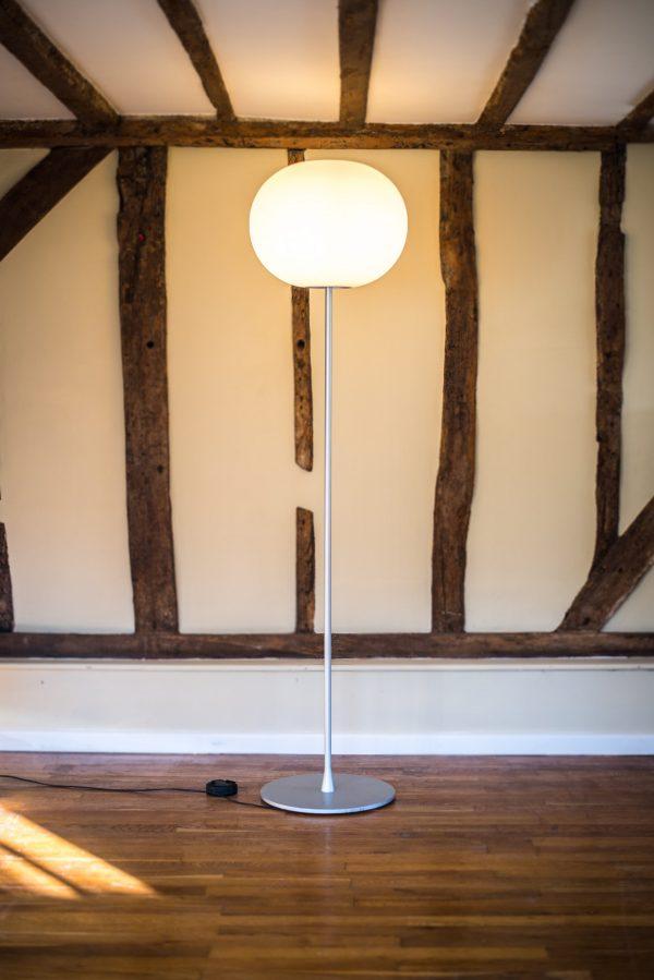Glo - ball floor lamp Jasper Morrison Flos 2