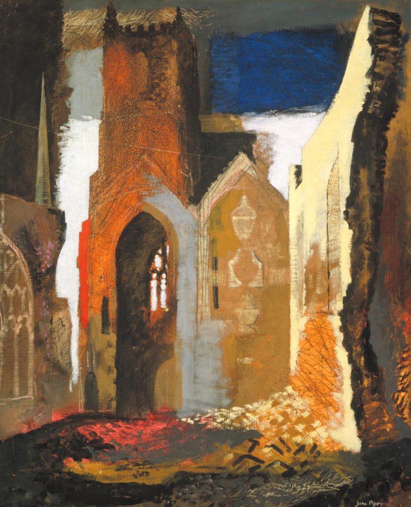 Artist John Piper